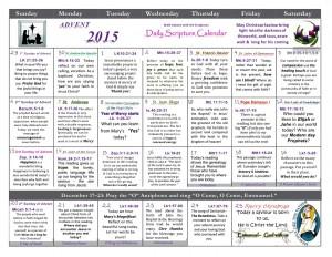 Advent Calendar 2015 1